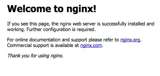nginx instalacion