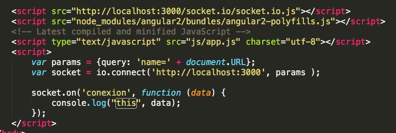 codigo cliente web